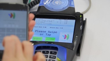 Paying with NFC