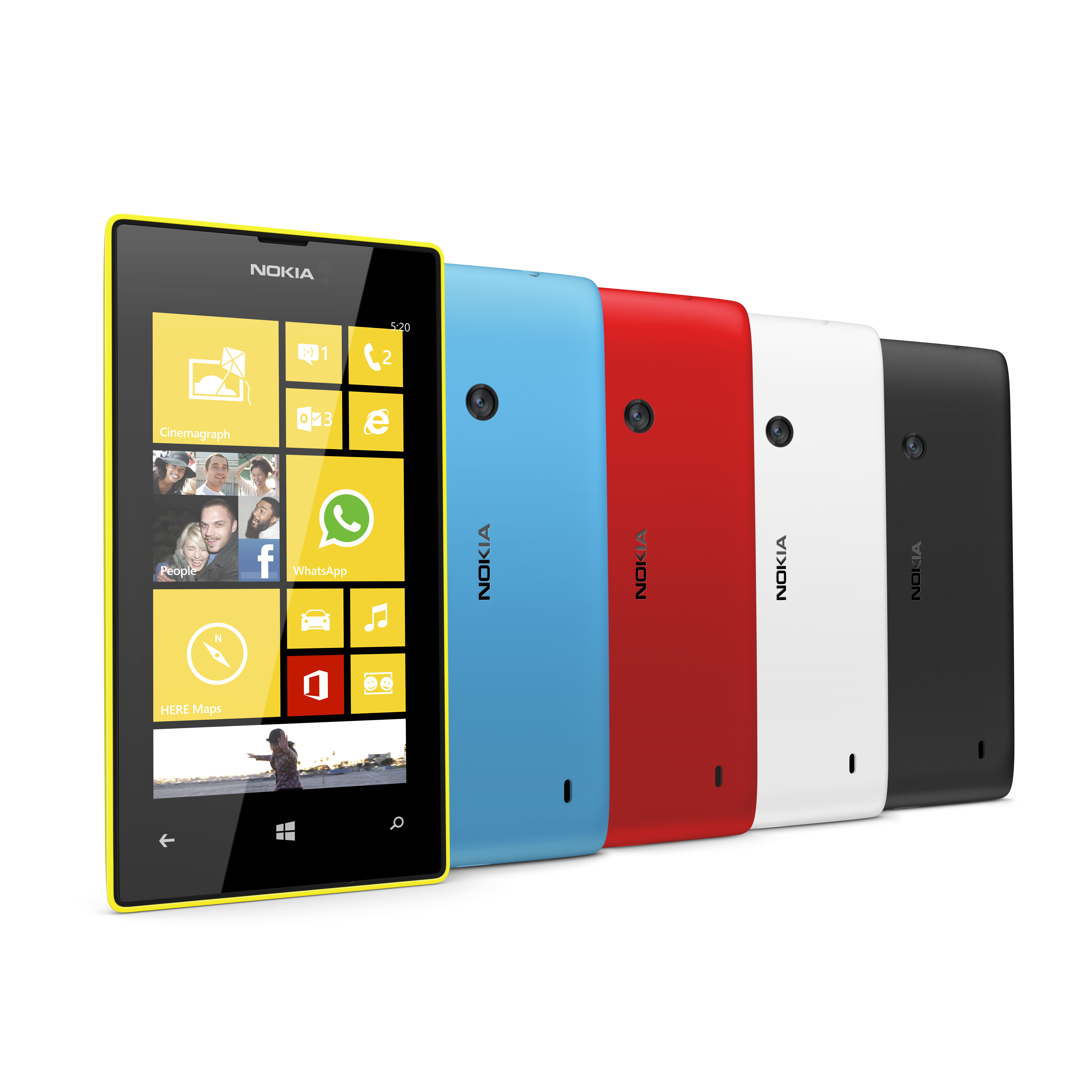 nokia nokia adds to the windows phone family with lumia 720 520. Black Bedroom Furniture Sets. Home Design Ideas