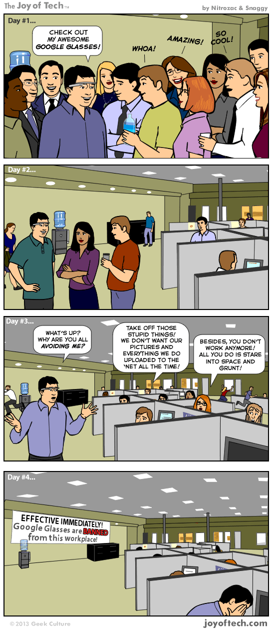 The Reality of Google Glass (Comic)