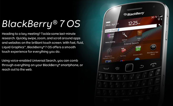 BlackBerry 7 Destined for Emerging Markets