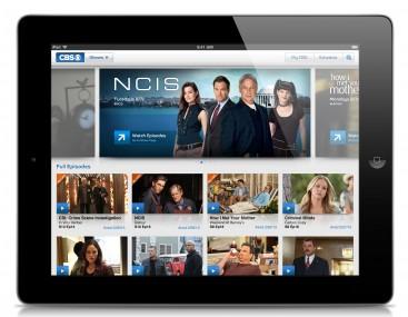 CBS iPad NCIS
