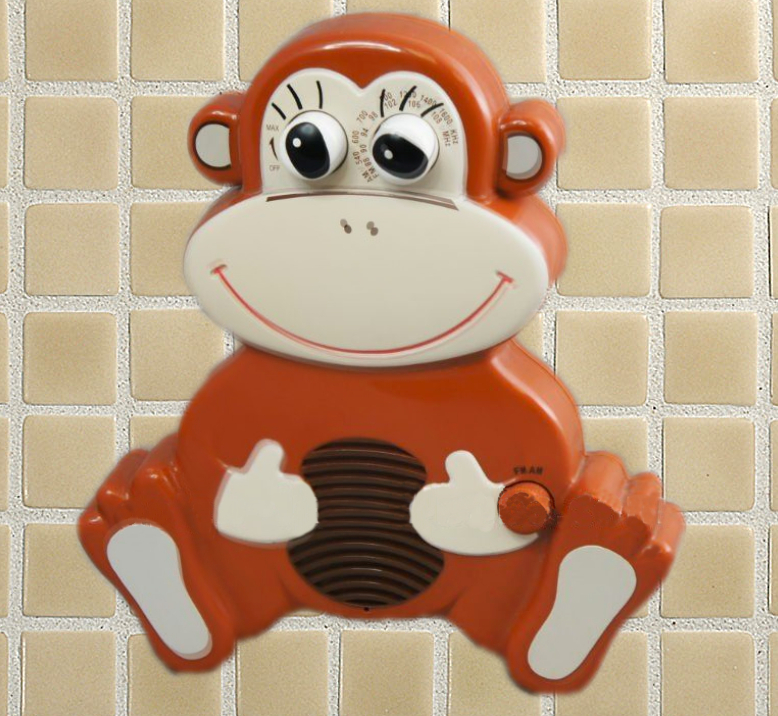 My Original Shower Radio. RIP Shower Monkey.