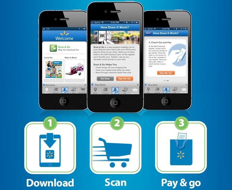 Walmart Expanding iPhone Checkout System to More Stores and Android