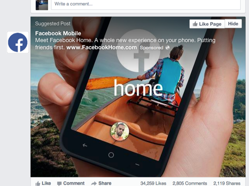 Facebook home ad cropped-feature