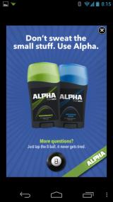 Nuance Alpha voice ad
