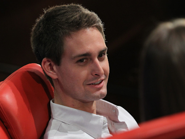 Snapchat CEO Evan Spiegel has probably sent thousands of selfies.