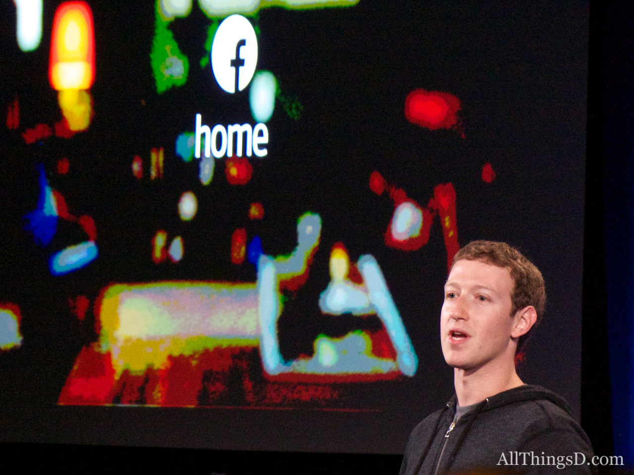 "Facebook Begins Big Ad Blitz To Tout Its New Android ""Home"""