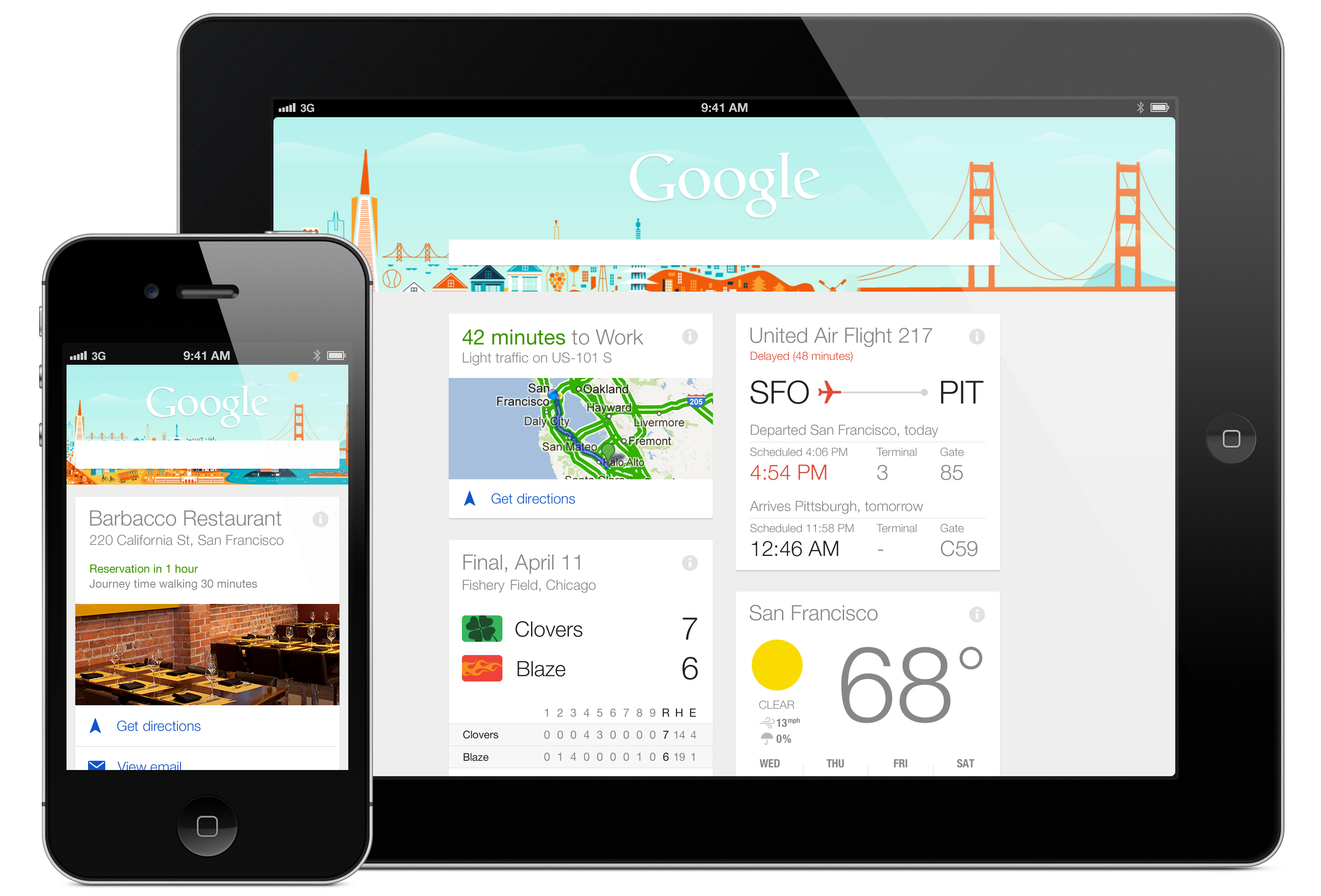 Google Now Arrives on iPhone and iPad, in Mostly Complete Form