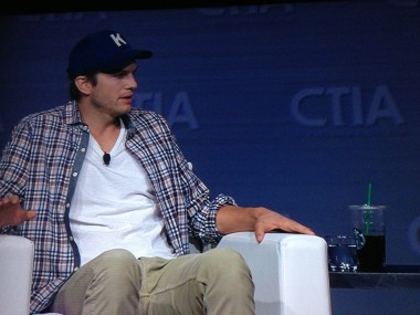 Ashton Kutcher at CTIA