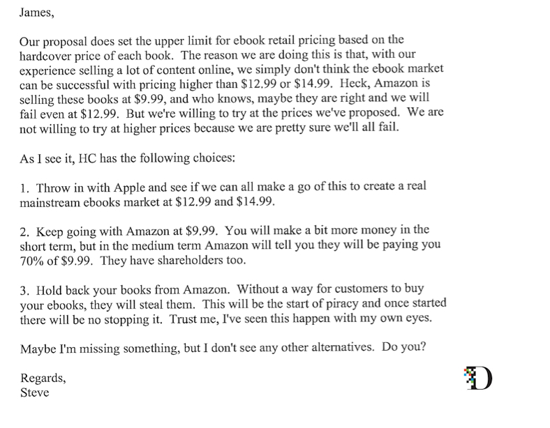 Here's That Steve Jobs E-Book Email to James Murdoch