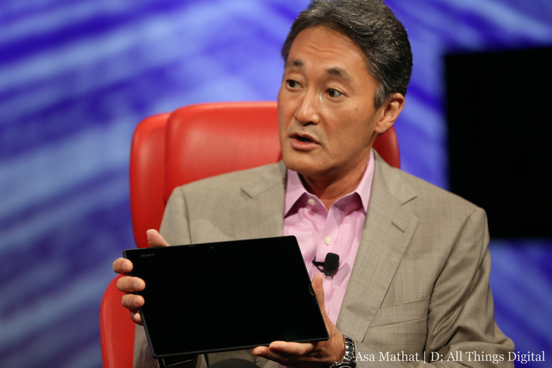 Sony CEO Kaz Hirai: Still More Work Needed in U.S. on Phone Business