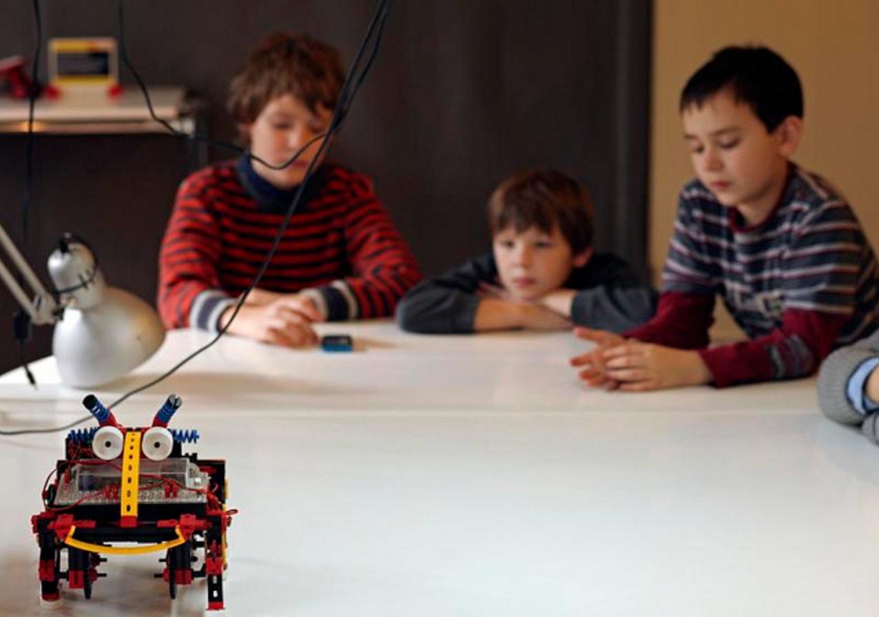 One Robot Per Child? Former Googler, Apple Engineer Tackle Educational Bots.