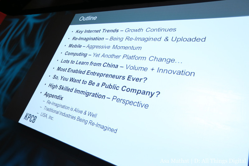 Mary Meeker's Internet Trends Report is Back, at D11 (Slides)
