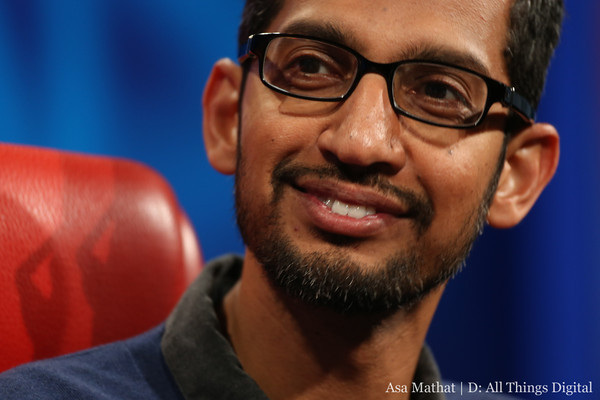 Android and Chrome Head Sundar Pichai: The Full D11 Interview