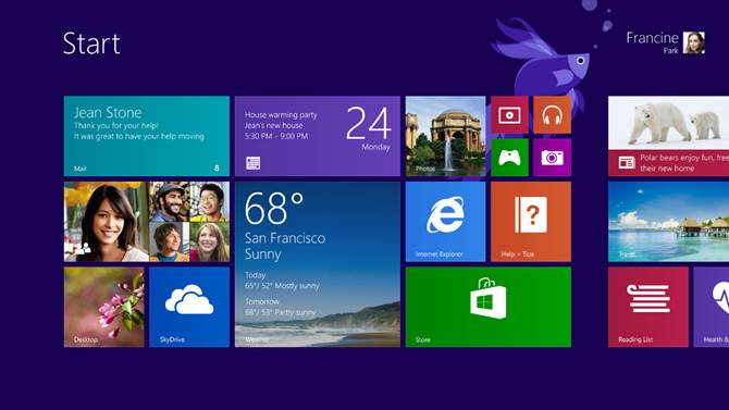 Windows 8 1 Will Feature Bing  Personalization  Boot