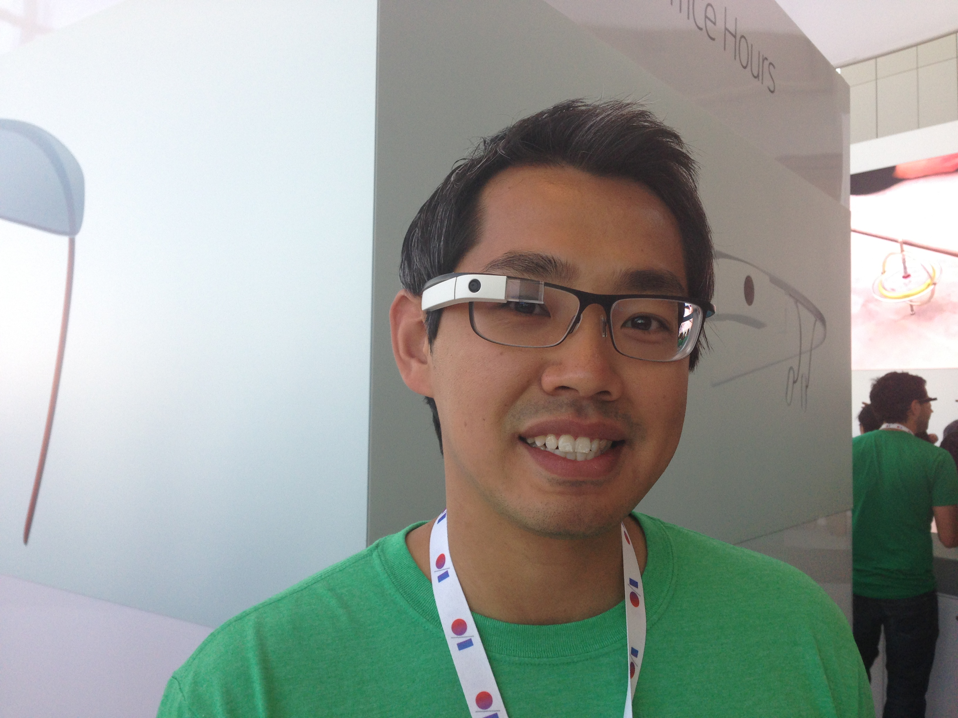 Prescription Google Glass prototype