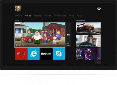 microsoft xbox one tv 2