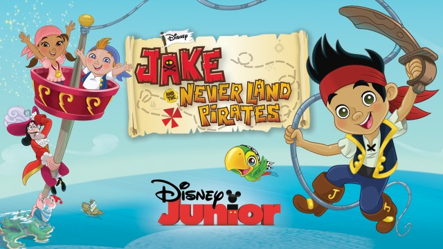 netflix disney jake and the pirates