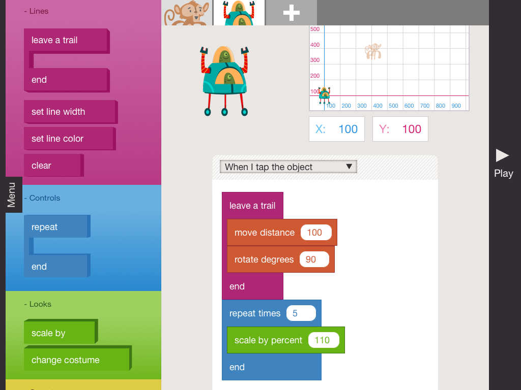 Worksheet Learning Programming For Kids can these ipad apps teach your kid to code lauren goode on hopscotch this app takes you through a quick tutorial at the start showing how put together blocks of program little