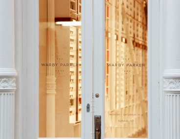 Warby Parker retail store