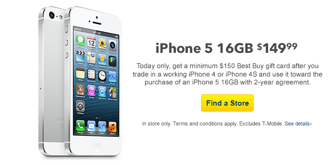 Best Buy Announces Nine-Day iPhone Trade-In Deal