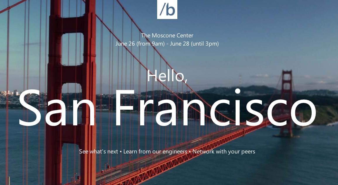 Microsoft Brings Its Developer Conference to Enemy Territory: Silicon Valley
