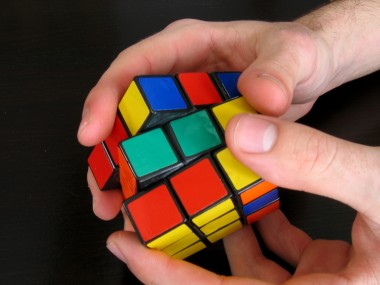 Persistence-rubiks-cube
