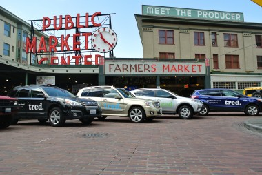 Tred Cars, Seatle Public Market