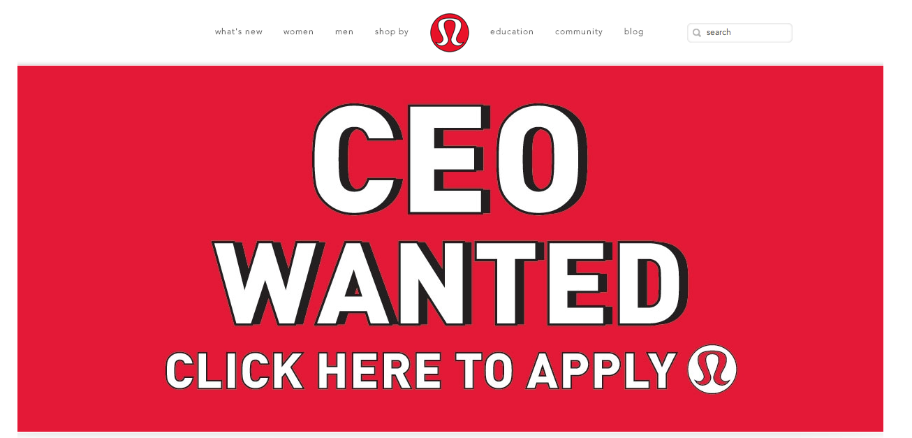 lululemon help wanted
