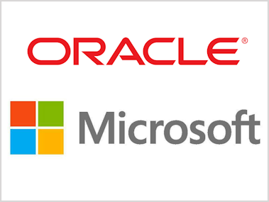 Image result for microsoft and oracle