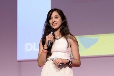 Ayna Agarwal, speaking Tuesday at DLDwomen in Munich.