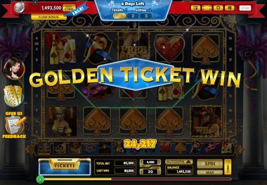 GCPlus_Golden Tocket Win Graphic