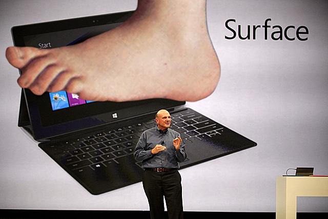 Microsoft Surface Revenue So Far: $853 Million