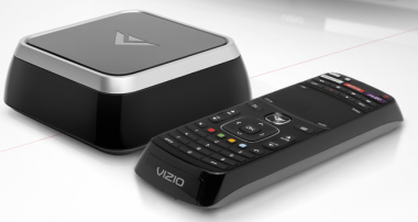 A Vizio Co-Star, one of the devices integrated with Google TV