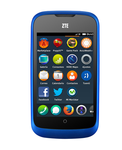 First Firefox OS Smartphone, the ZTE Open, Launches in Spain Tomorrow for $90