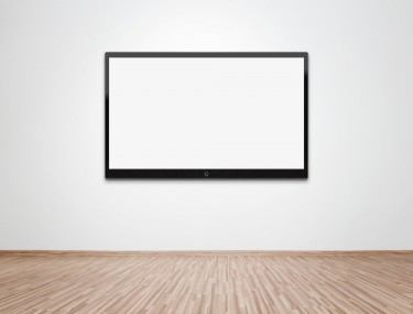 empty tv shutterstock