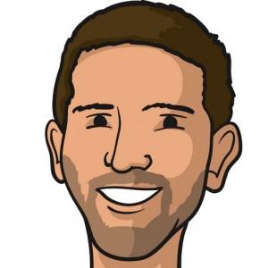 Walk's Twitter avatar visage.