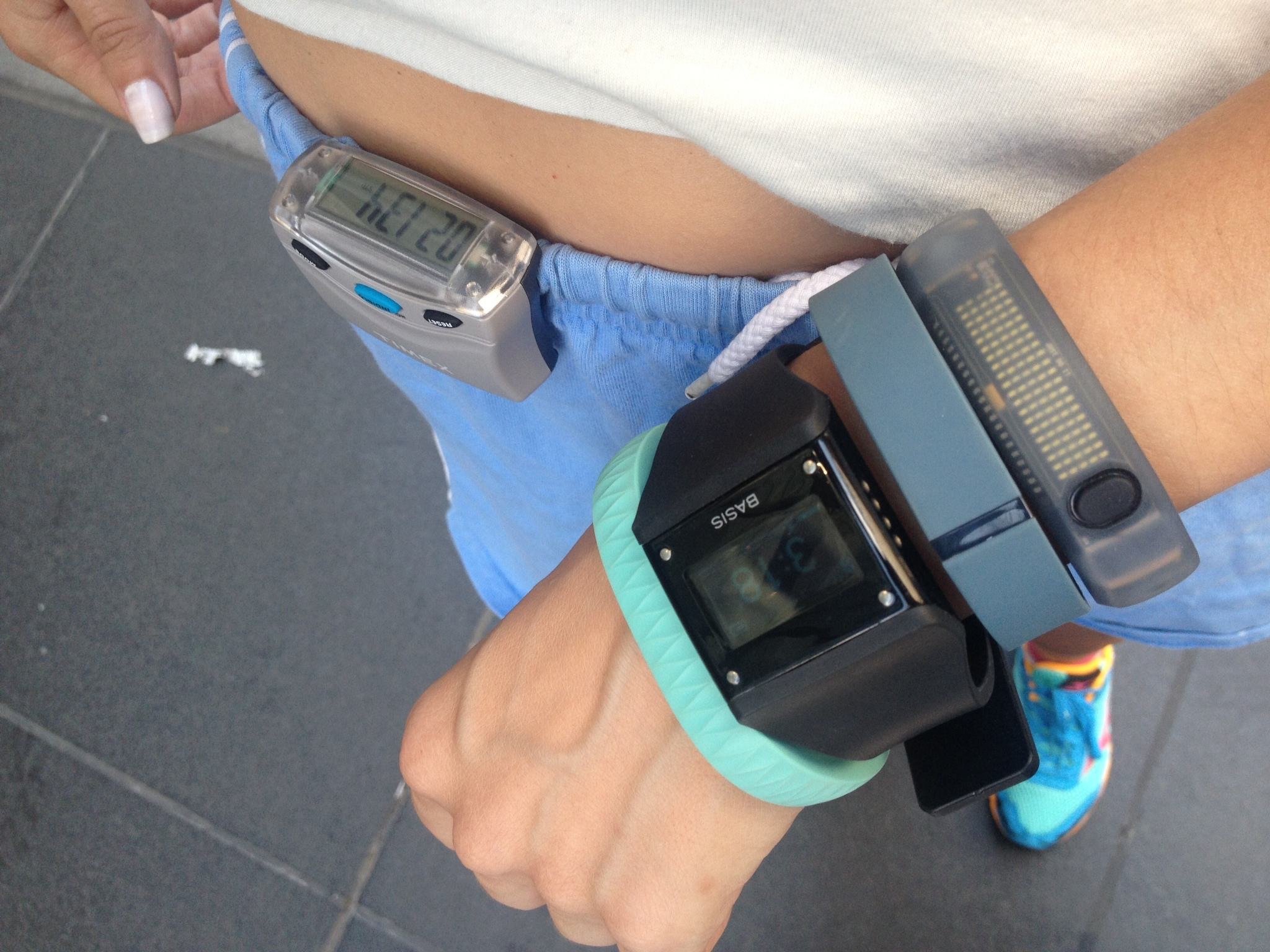 Comparing Wearables: Fitbit Flex vs. Jawbone Up and More