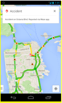 Google adds Waze