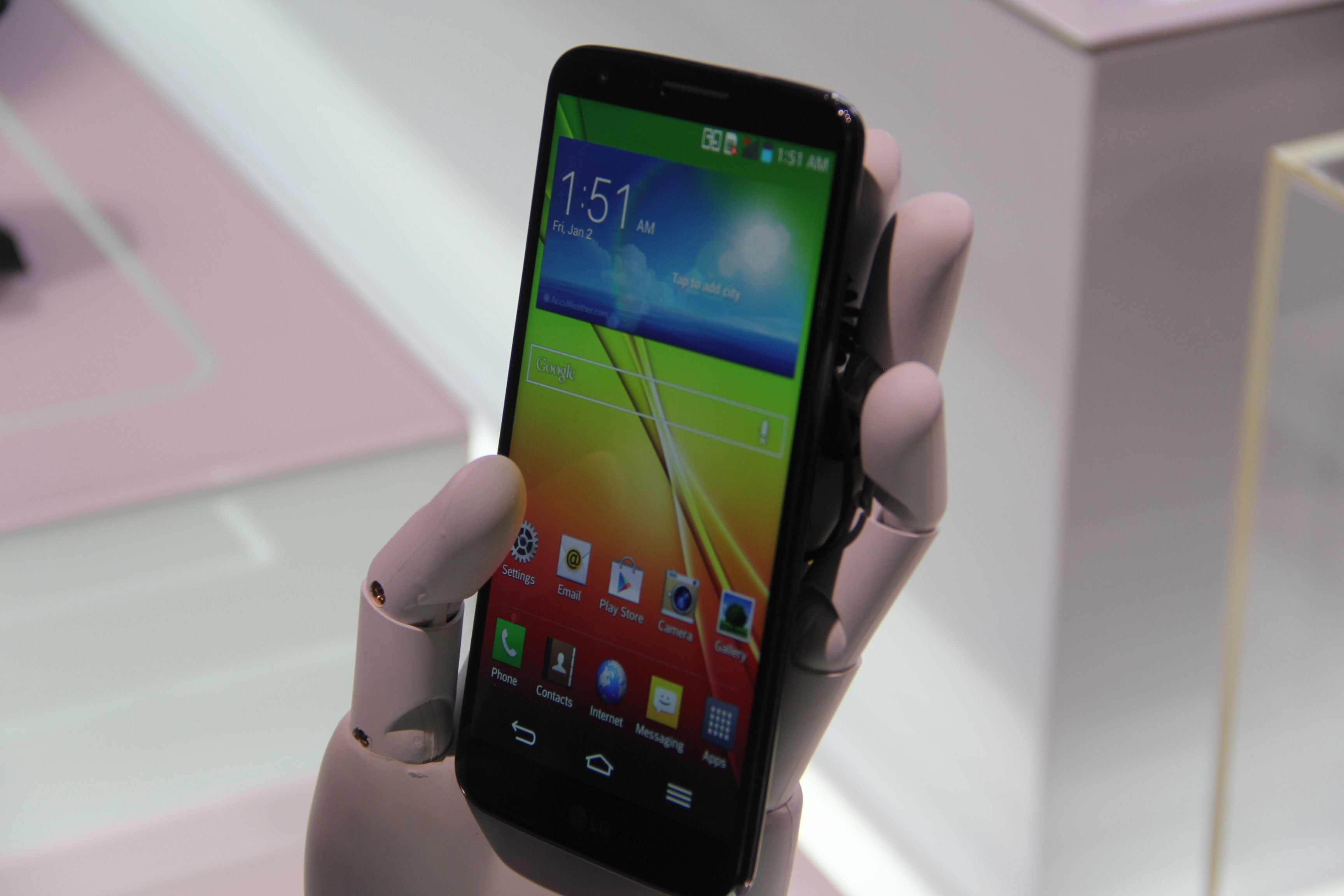 Report From Inside the LG G2 Smartphone Event In New York - Lauren