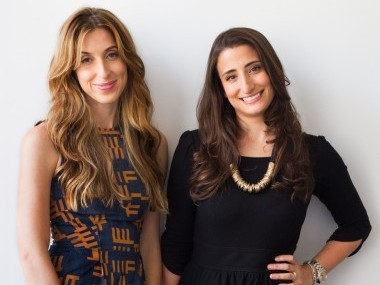 Birchbox co-founders and co-CEOs Katia Beauchamp and Hayley Barna