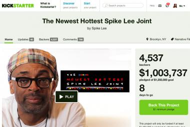 KickstarterSpikeLee