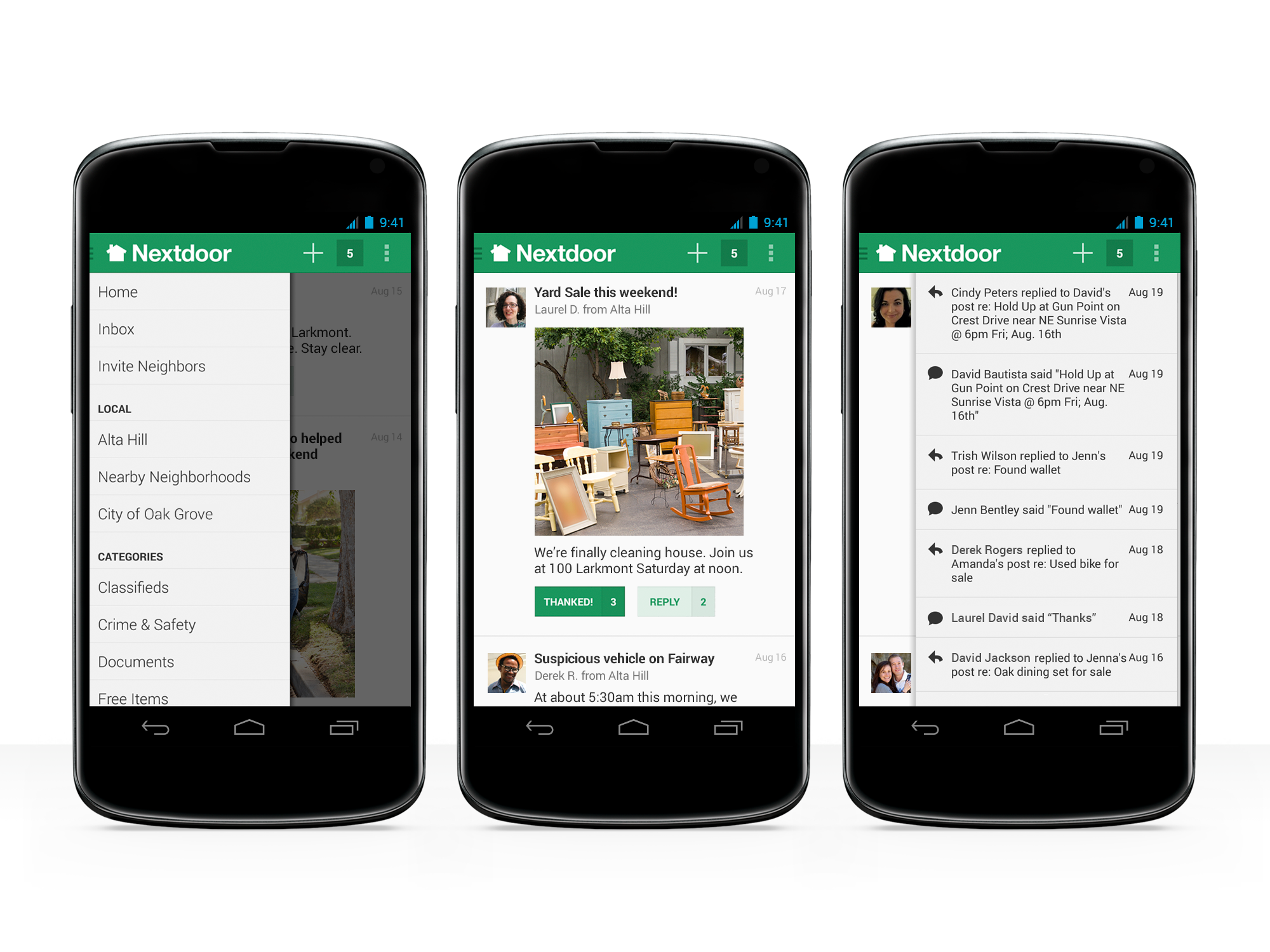 Nextdoor Android