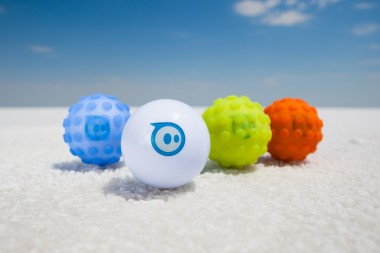 Sphero 2.0 on salt