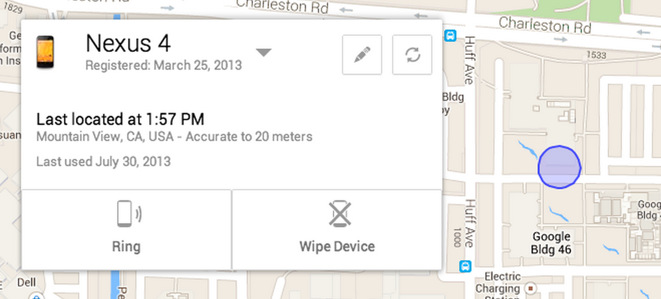 Google Launches Android Device Manager to Help Locate Lost Phones