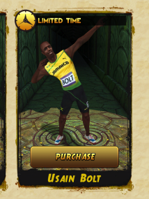 bolt temple run