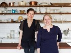 Food52 co-founders Amanda Hesser (l) and Merrill Stubbs
