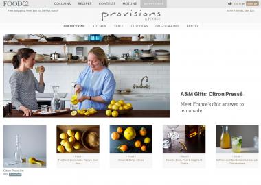 food52 provisions citron presse