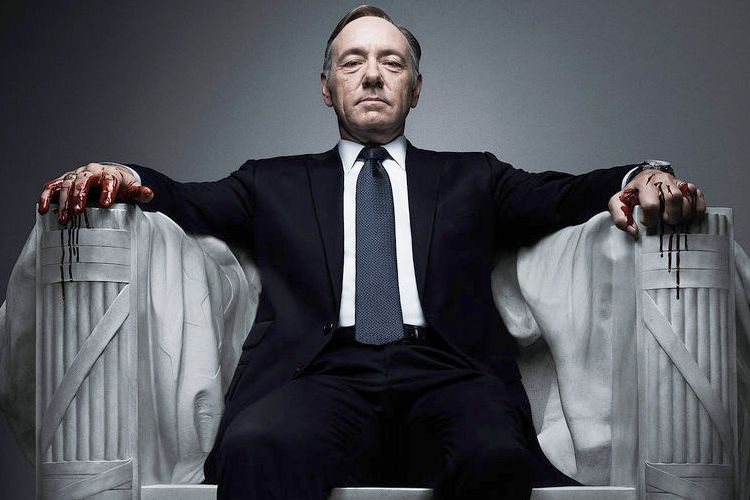 Kevin Spacey Goes All House-of-Cards on Hollywood