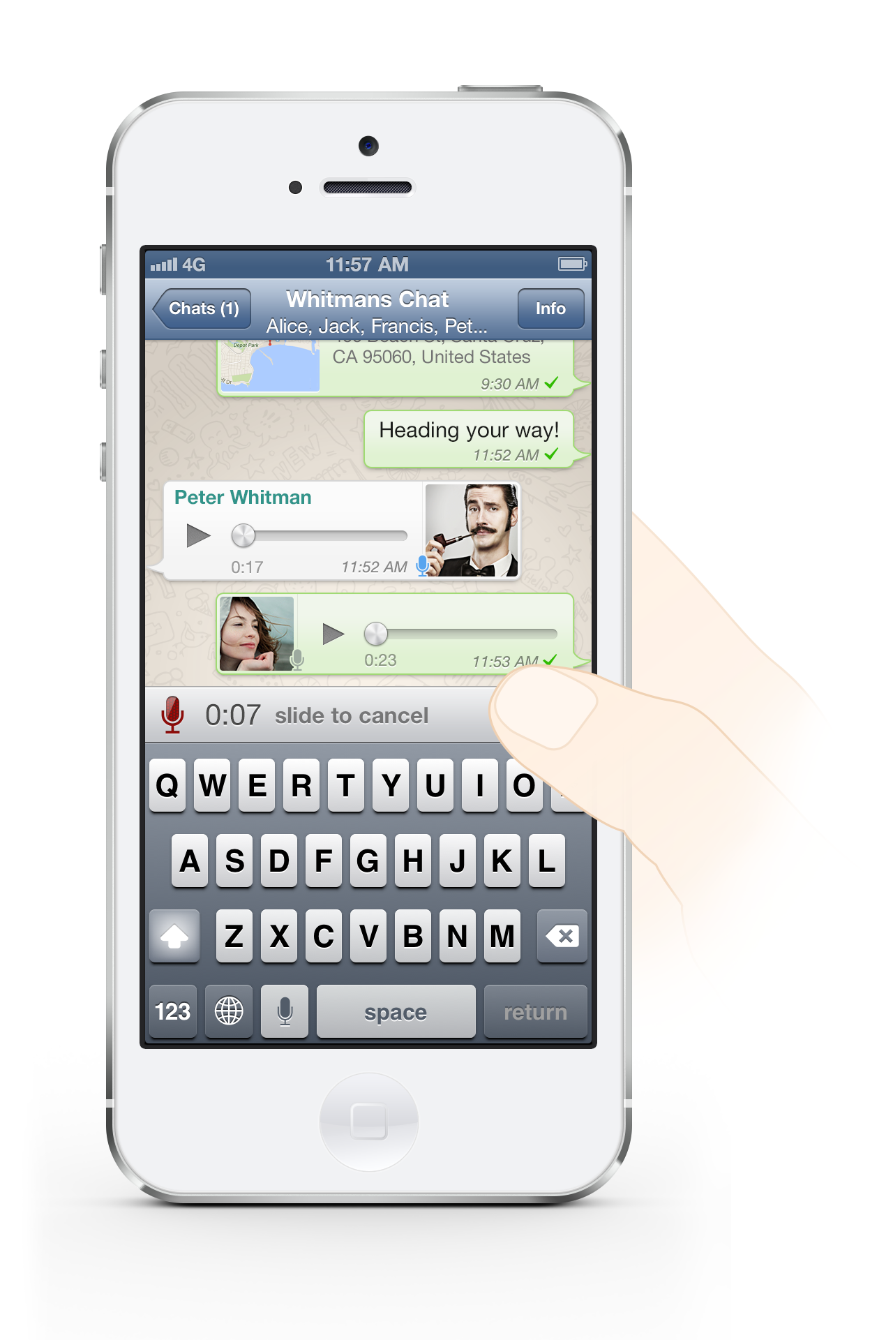 The Quiet Mobile Giant: With 300M Active Users, WhatsApp Adds Voice Messaging